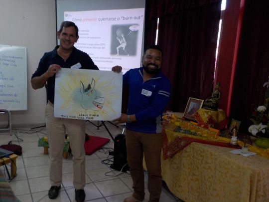 Foundation Service Seminar in Guadalajara, Mexico, February 2018. Photo courtesy of Gilda Urbina.