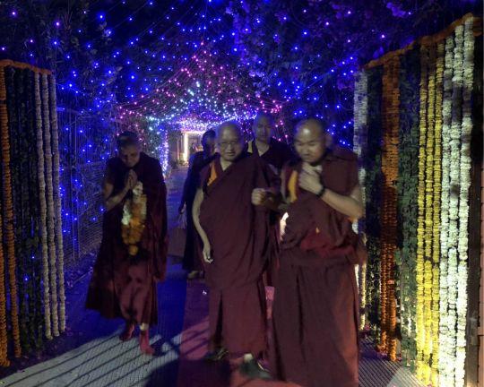 Rinpoche Tushita Delhi night 201803