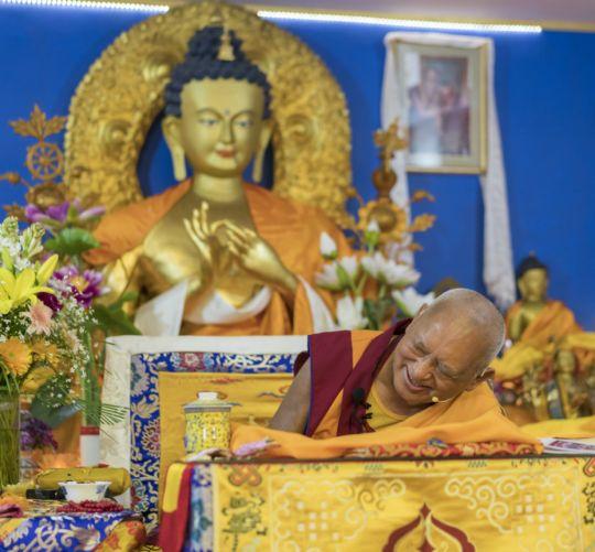 Rinpoche throne Delhi 201803