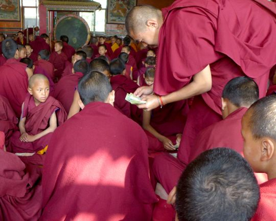 offerings-to-monks-losar-kopan-2017-lamiller