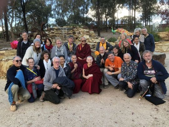 Lama Zopa Rinpoche students Peace Park The Great Stupa