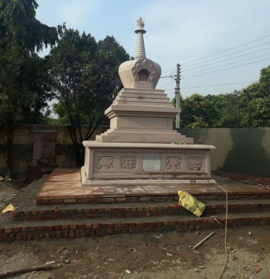 Jangchub Stupa Project at Shalu Monastery, Tibetan Cholsum Settlement, India