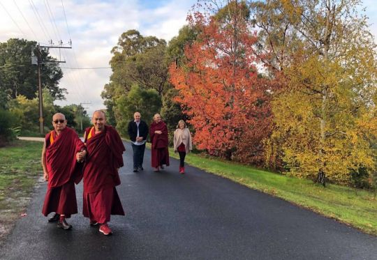 Lama Zopa Rinpoche Adelaide hills 2018