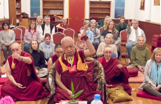 Buddha House Rejoices in Following the Guru's Advice