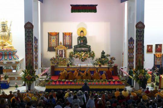 Thubten Shedrup Ling with Jade Buddha ILLUMIN8 2018