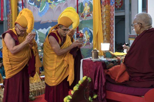 sangha tsog lama zopa great stupa 2018