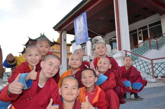 Support Continues for the Young Monks of Idgaa Choizinling Dratsang, Mongolia