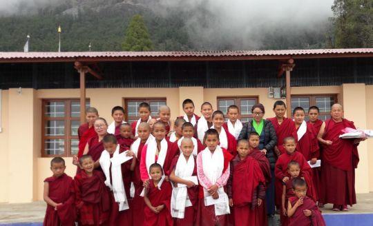 Nyung Nä Retreats and 100 Million Mani Retreats Continue at Tashi Chime Gatsal Nunnery, Nepal