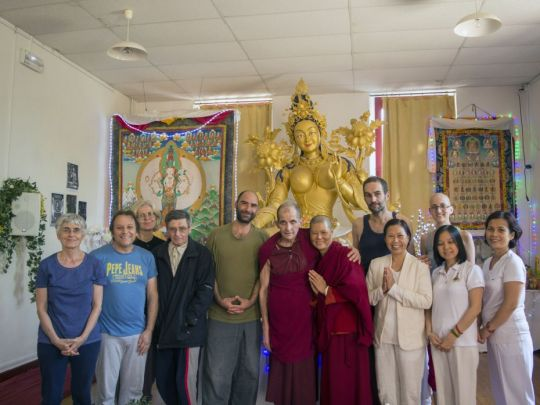 Seventh Round of 108 Nyung Nä Retreats Completed at Institut Vajra Yogini, France