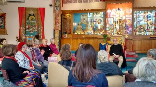 Tara Institute Healing Meditation Group Volunteer Honored with Award
