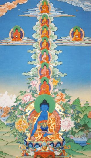 New from Lama Zopa Rinpoche! A Brief Meditation-Recitation on Guru Medicine Buddha