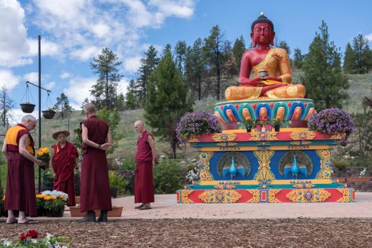 Lama Zopa Rinpoche's Three Months in the United States