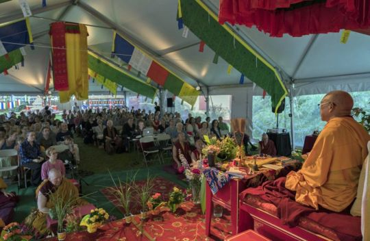 lama-zopa-rinpoche-teaching-at-kurukulla-center-august-2018-by-ven-lobsang-sherab