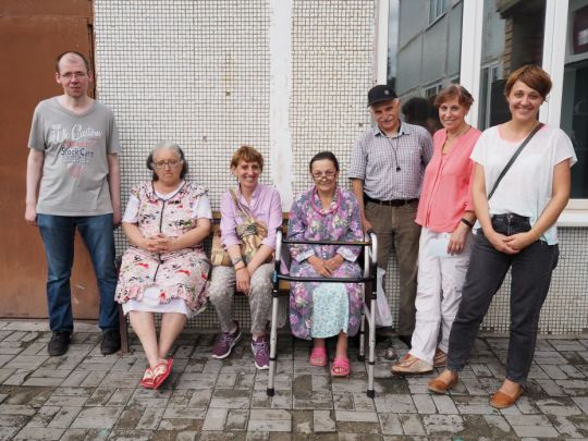 Dmitrovskiy Pogost village nursing home by Anastasia Alekseevna 2018 July