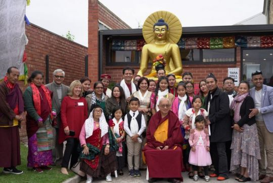 Rinpoche with the Himalayan Buddhist Community