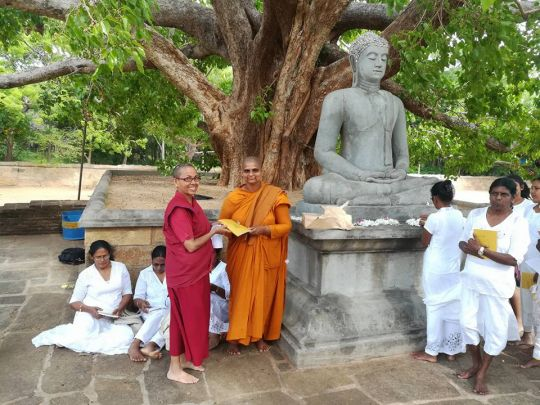 Aug 26 2017 Facebook We recited the Suwarnoththaba sutra the Sinhala version of The Golden Light sutra at Abayagiriya stupa this morning