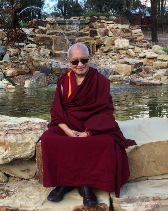 Lama-Zopa-Rinpoche-Peace-Park-Great-Stupa-AUS-201805