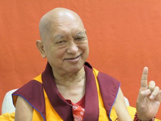 Lama Zopa Rinpoche Spain 2018