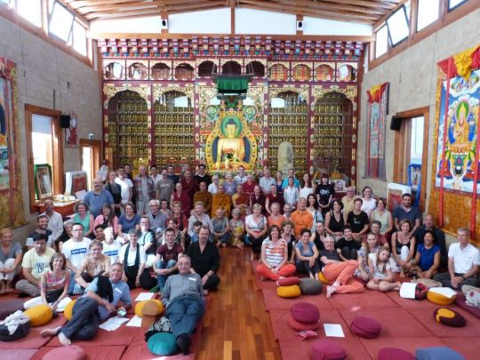 intersangha-gathering-group-photo-taken-inside-of-the-gompa-at-nalanda-monastery-in-france-photo-taken-in-september-2018-by-nalanda-monastery