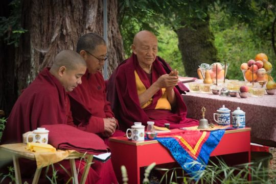 Phase One of Vajrapani Institute's Prayer Wheel of Compassion Complete