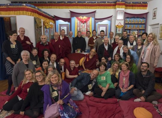 lama-zopa-rinpoche-with-FPMT-europe-regional-meeting-participants-at-tara-mandala-center-in-landau-germany-november-2018-photo-by-ven-lobsang-sherab