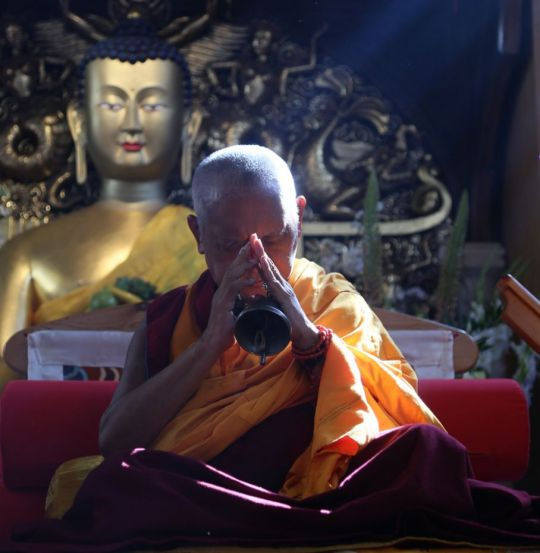 Lama Zopa Rinpoche's Message to Jamyang Buddhist Centre for Its 40th Anniversary