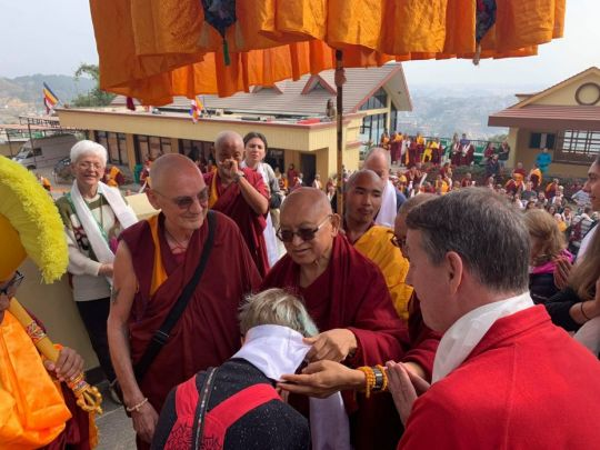 Lama Zopa Rinpoche Arrives at Kopan, Watch Teachings Live