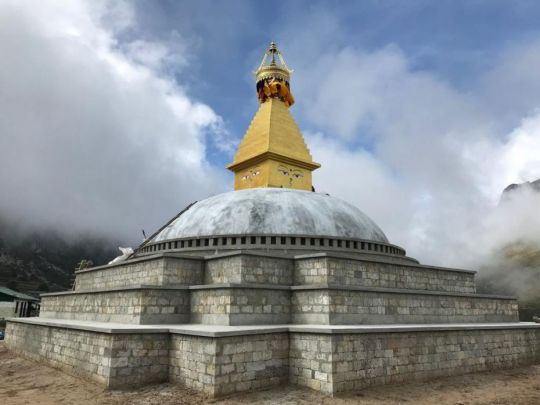 Magnificent Stupa Rebuilt in Thame, Nepal, to Benefit All