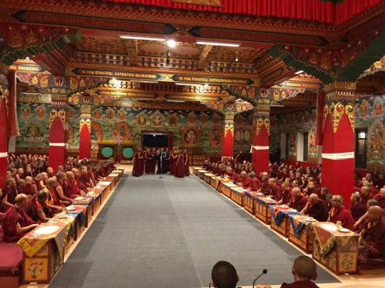 evening-debate-session-between-jamyang-choeling-institute-and-geden-choeling-nunnery-held-at-kopan-nunnery-october-12-2018-photo-by-kopan-nunnery
