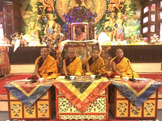 lobsang-wangmo-kopan-nunnery-paldolma-dolmaling-nunnery-lobsang-choesang-thukche-cho-ling-nunnery- kelsang-choedon-jamyang-cho-ling-institute-jang-guncho-full-night-debate-Oct-20-18