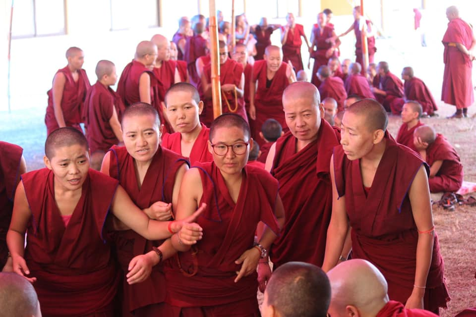 Nuns' Jang Guncho and Geshema Graduation Ceremony Held at Kopan Nunnery in Nepal