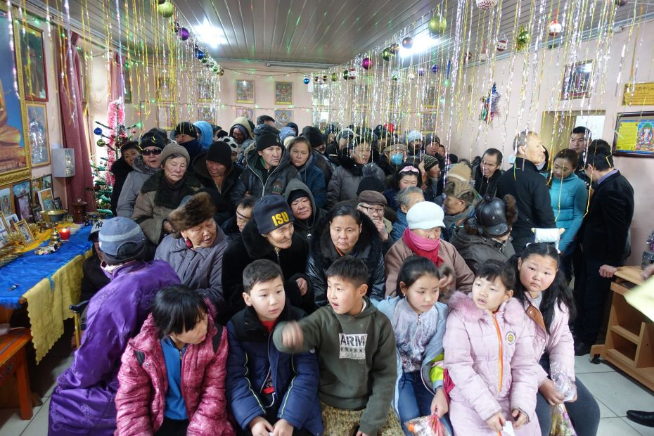 New Year Celebrated with the Poor and Homeless in Mongolia
