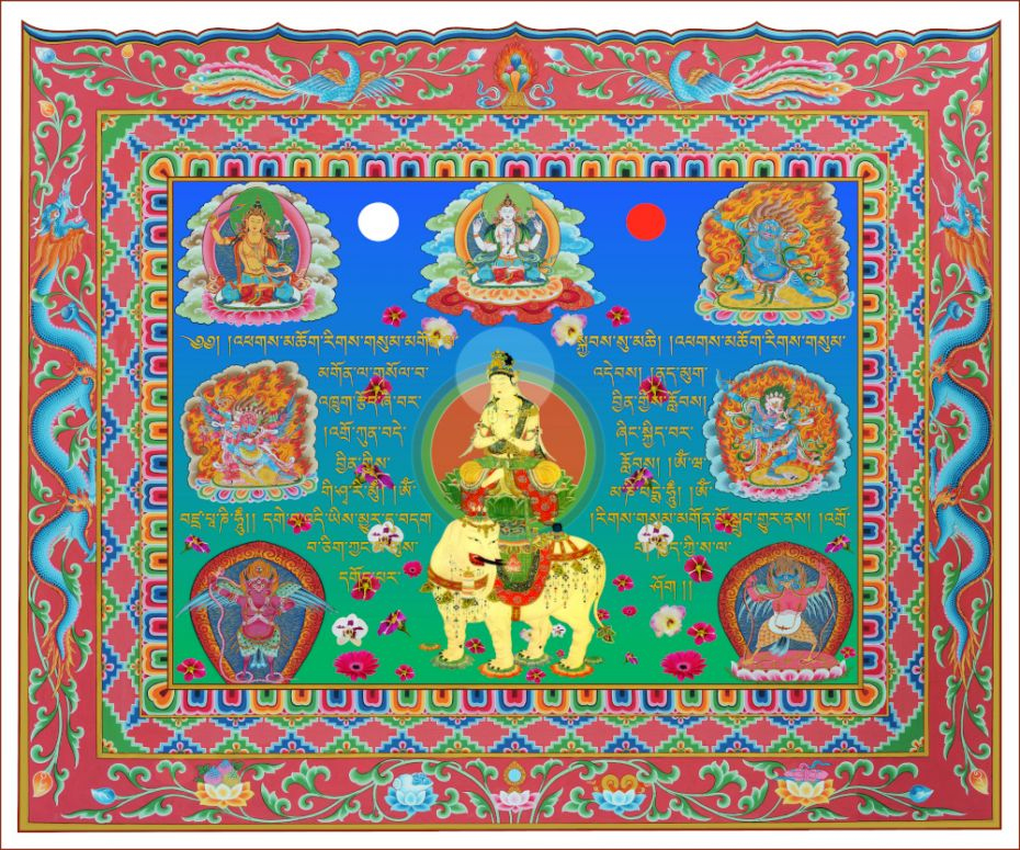 Take a Look! Samantabhadra Card for Protection