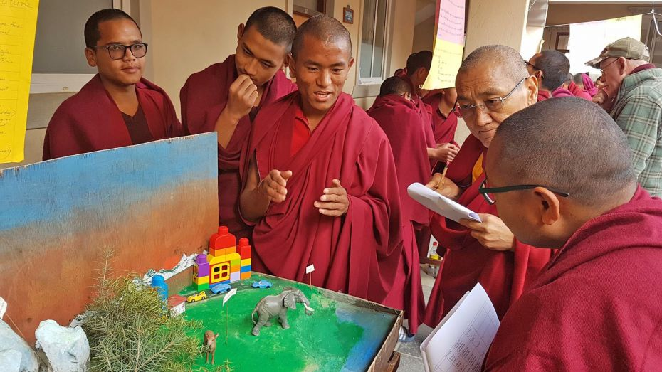 Kopan Monastery School Students Held a Science Fair