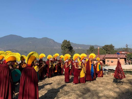 kopan-monks-with-torma-symbolizing-kalarupa-nepal-feb-2019-photo-by-kopan