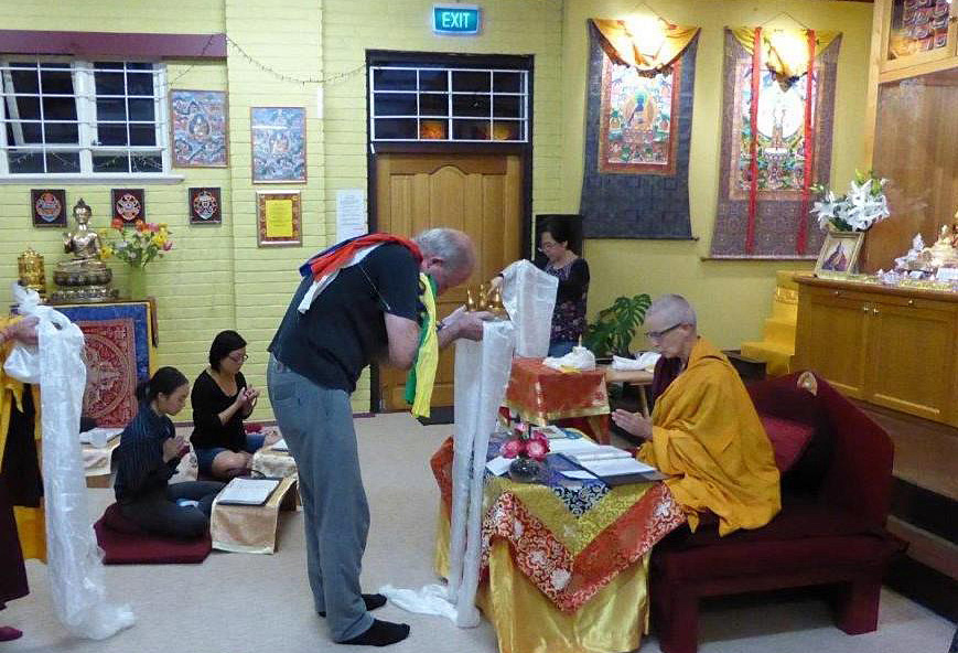 Hayagriva Buddhist Centre Benefited from Ven. Tenzin Tsapel's First Visit