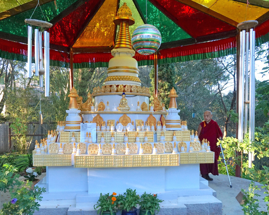 How to Use a Stupa to Bring You to Enlightenment
