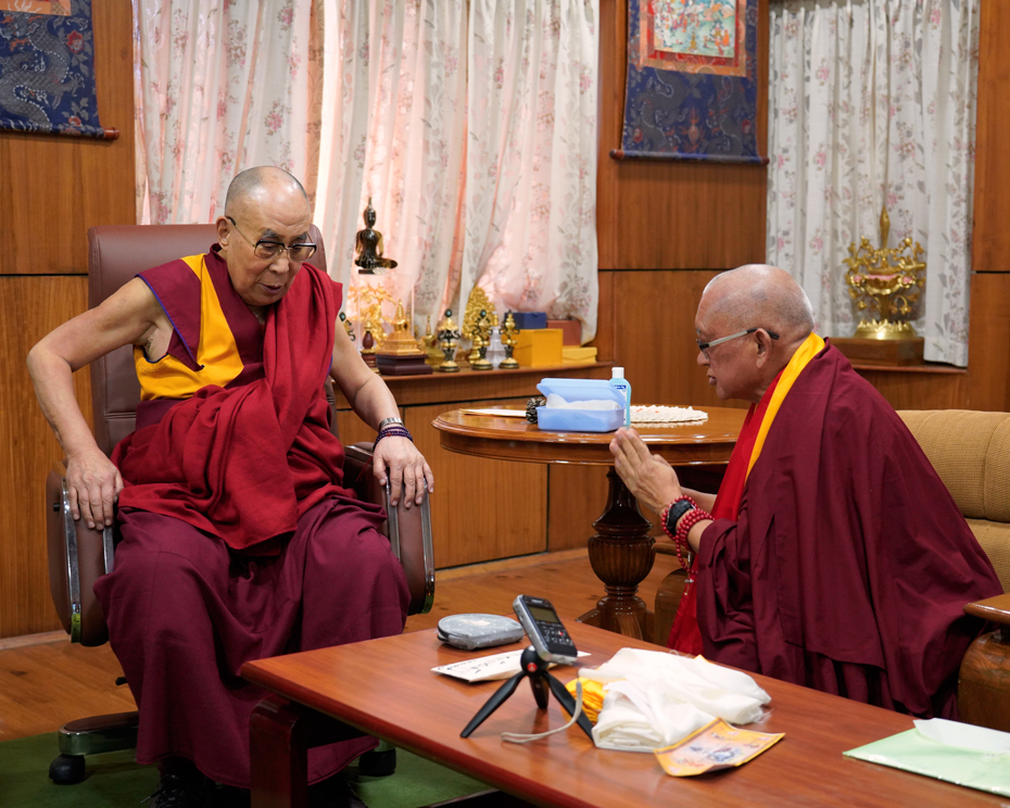 Practices for His Holiness the Dalai Lama's Long Life and Good Health