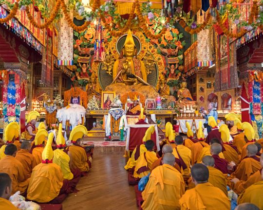 Long-life-puja-for-Lama-Zopa-Rinpoche-Kopan-201904