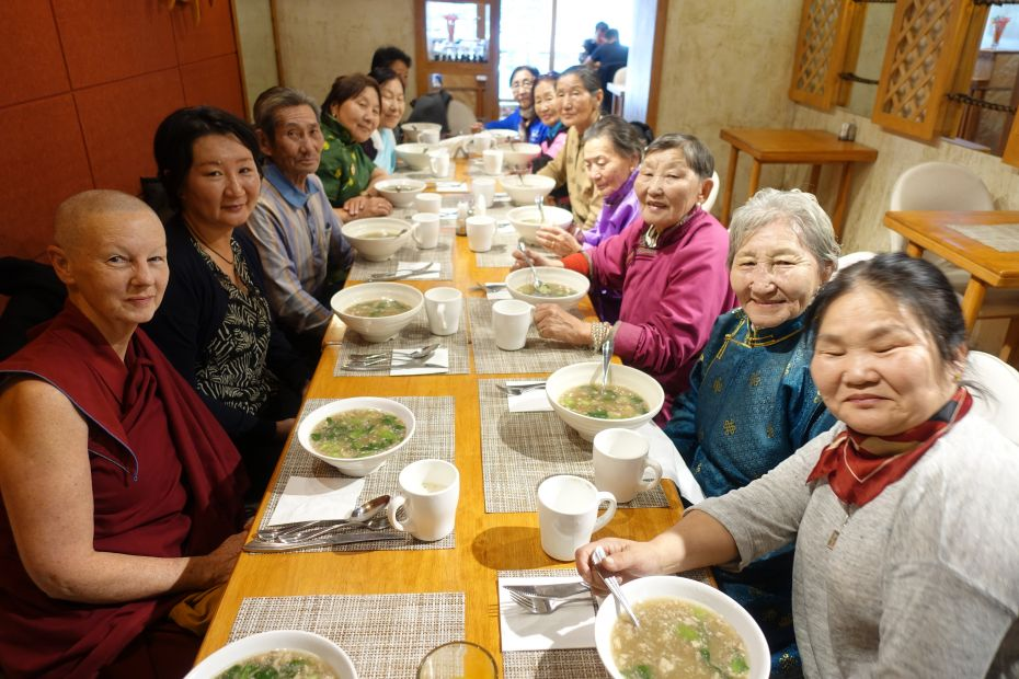 Extensive Offerings Offered Daily in Mongolia by Dedicated Senior Volunteers