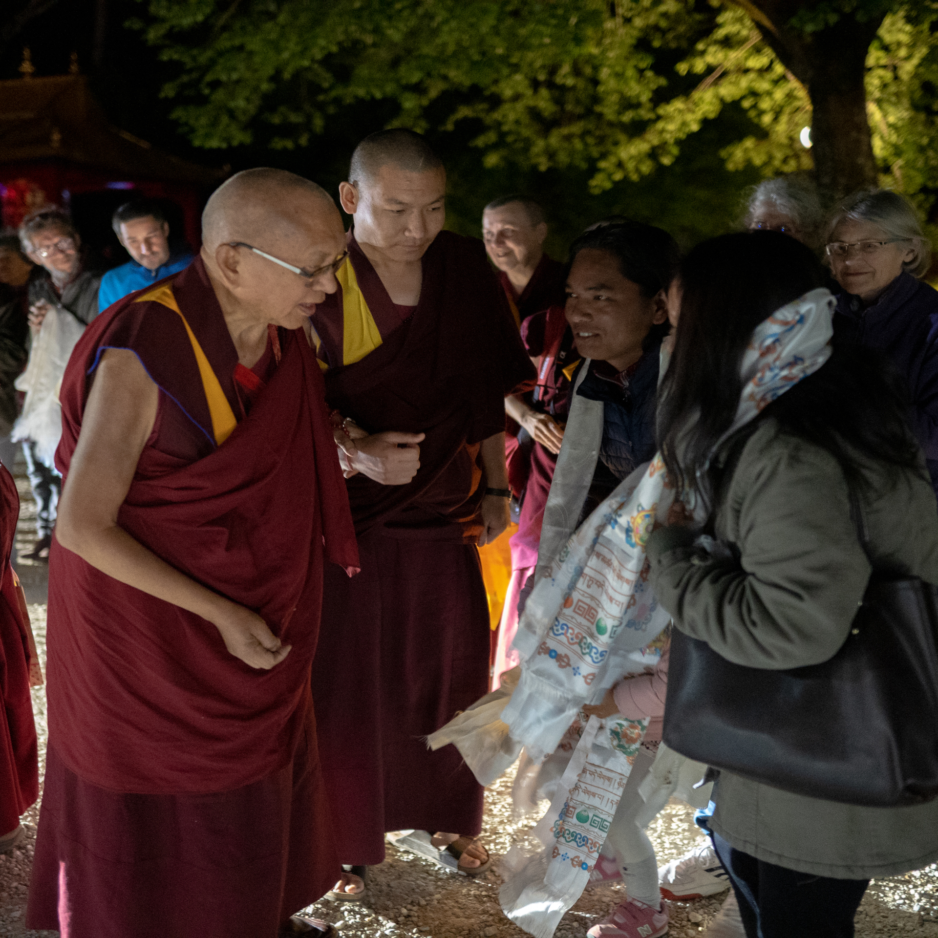 Lama Zopa Rinpoche Begins Teaching at Vajrayogini Retreat in France