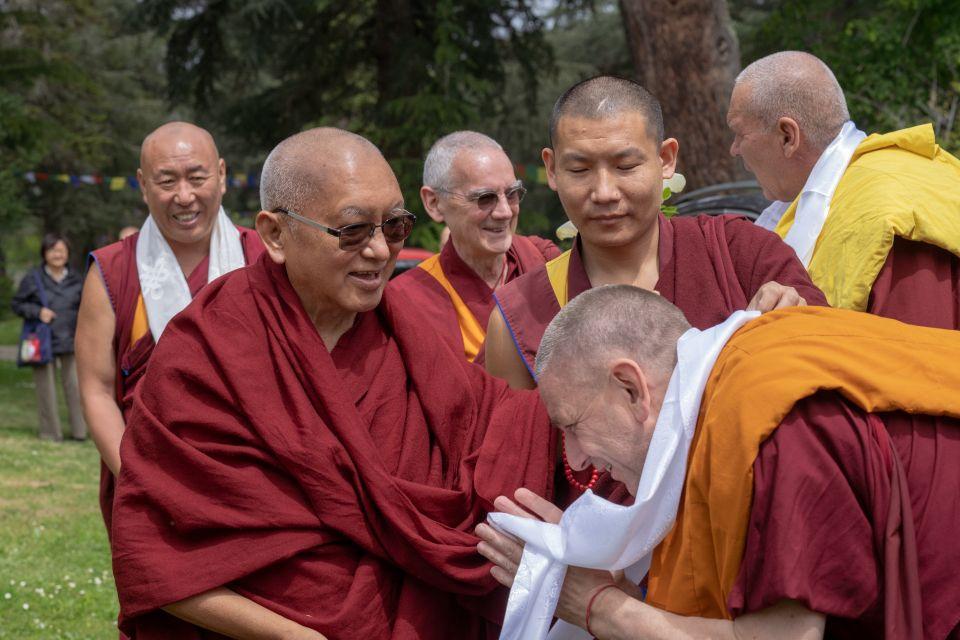 Lama Zopa Rinpoche Nalanda Monastery France 201905