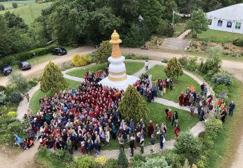 Vajrayogini Retreat participants IVY May 2019