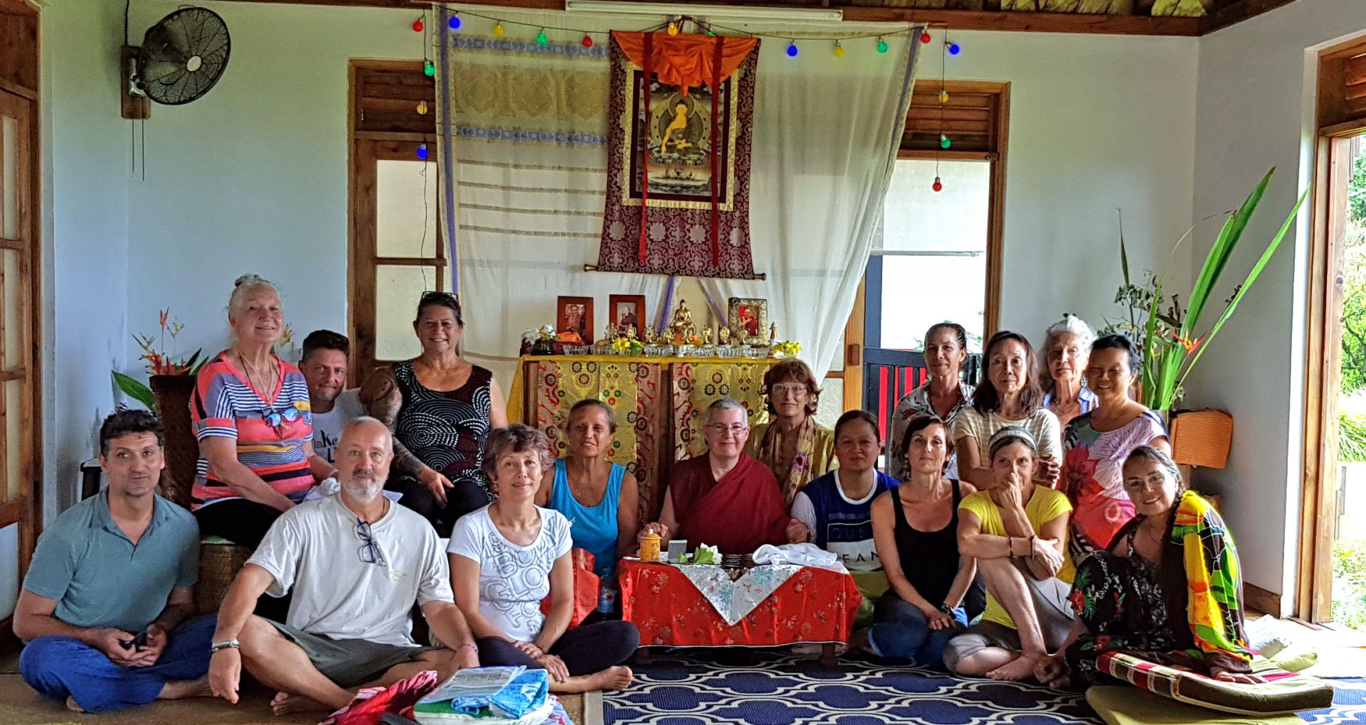 Centre de Méditation Naropa Benefitted from Ven. Chantal Tenzin Dekyi's Visit to Tahiti
