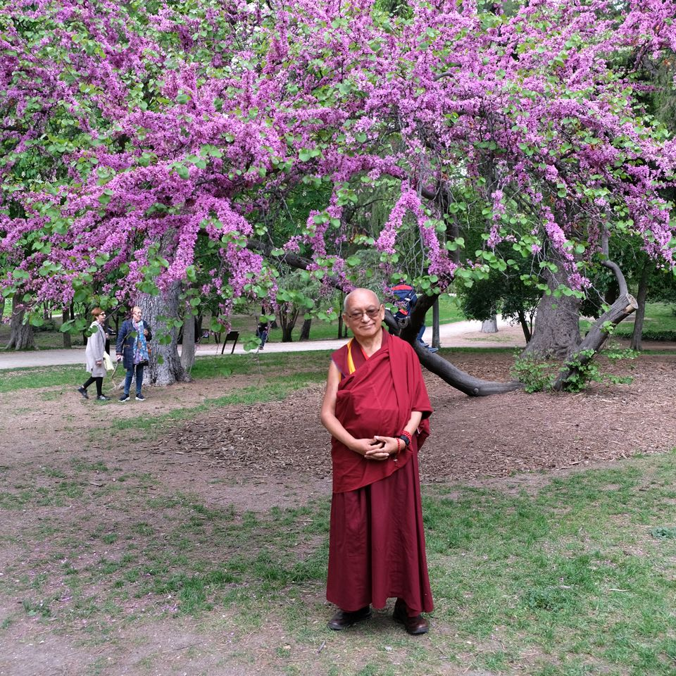 Lama-Zopa-Rinpoche-Park-Madrid-April-2019