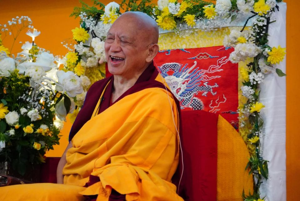 Lama Zopa Rinpoche Long Life Puja IVY France 2019