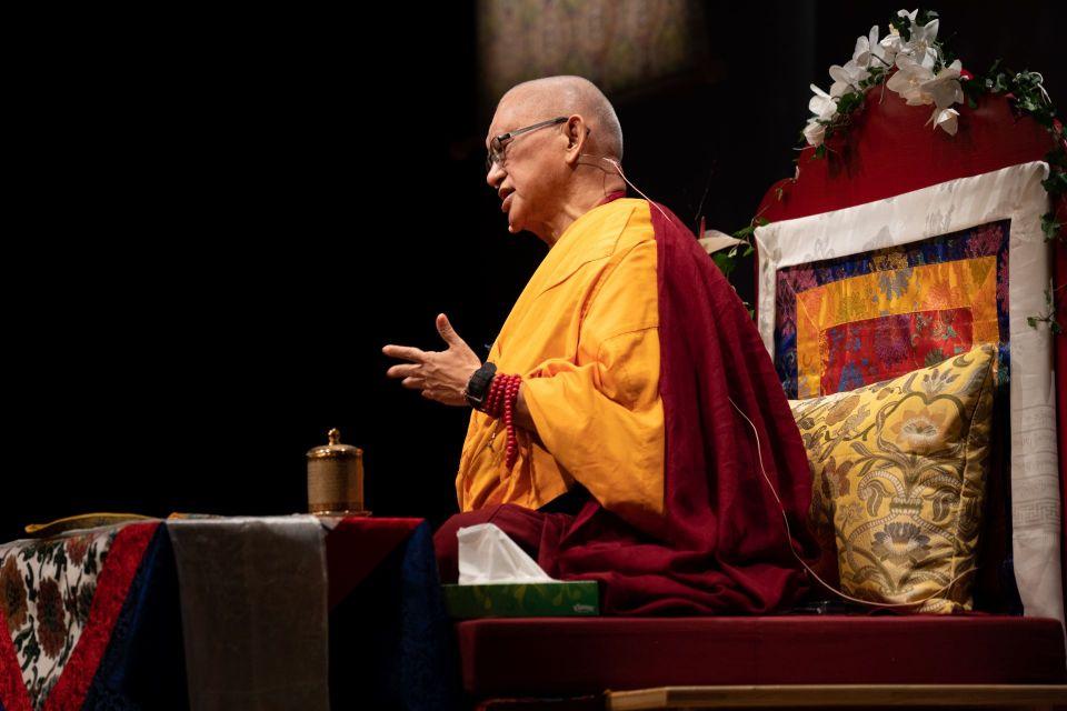 Lama Zopa Rinpoche 2018 Martigny Switzerland