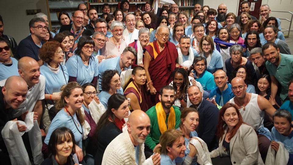 Rinpoche Visits Madrid, Granada, and Bilbao in Spain