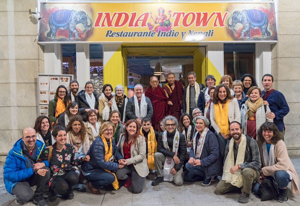 Lama-Zopa-Rinpoche-with-students-Bilbao-Spain-2019