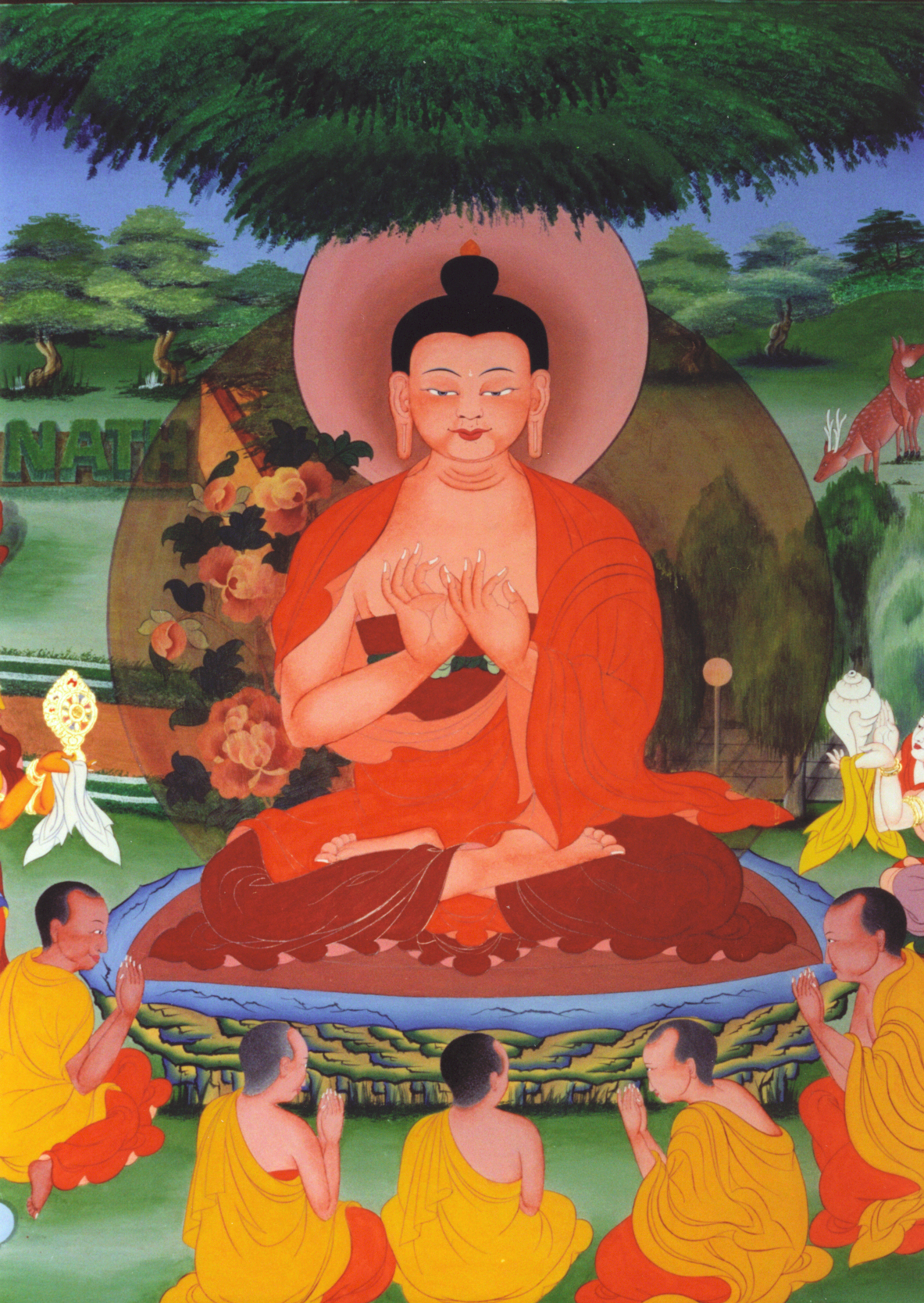 Chokhor Duchen and International Sangha Day: August 4